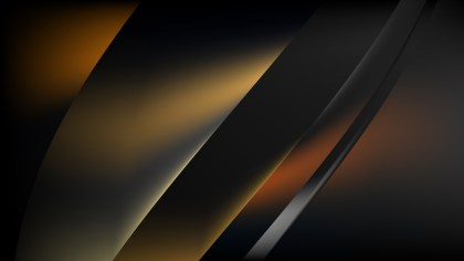 Abstract Orange and Black Graphic Background