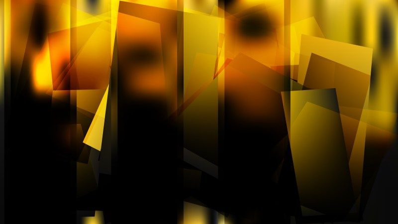 Abstract Orange and Black Background Vector Illustration