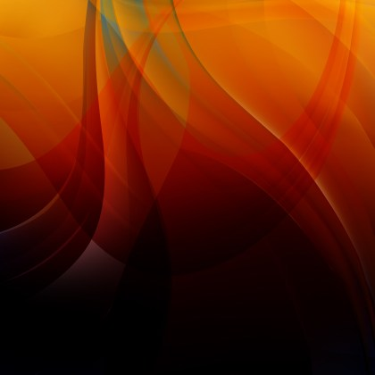 Orange and Black Background Vector Image
