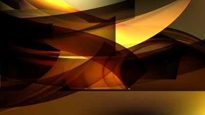 Abstract Orange and Black Background