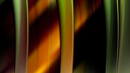 Abstract Orange and Green Graphic Background