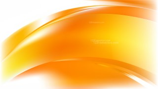 Abstract Orange and White Background Vector Illustration