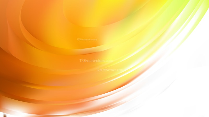 Orange and White Background Vector Image