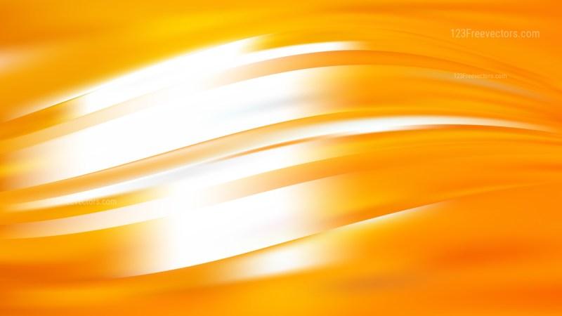 Orange and White Background Vector Image