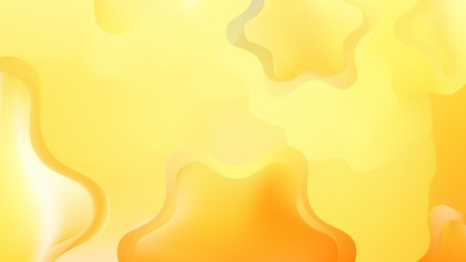 Abstract Orange and Yellow Graphic Background