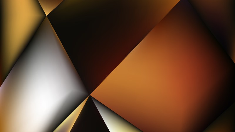 Abstract Orange Black and White Background Vector Illustration