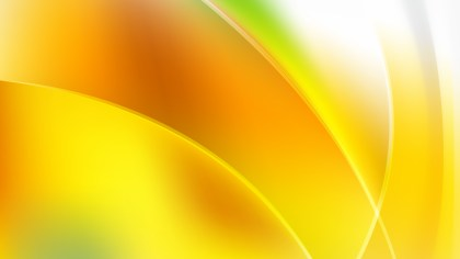 Abstract Orange White and Green Graphic Background