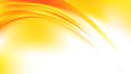 Abstract Orange Yellow and White Graphic Background