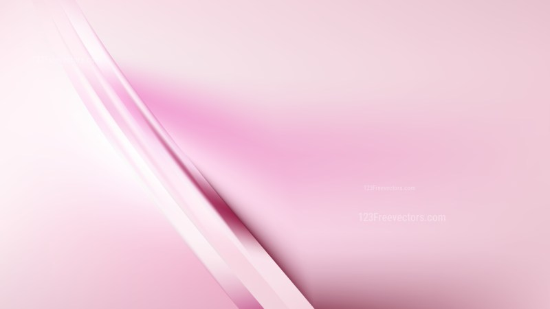 Abstract Pastel Pink Background Vector Illustration