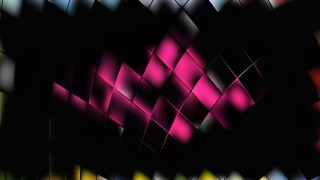 Abstract Pink and Black Background Vector Illustration