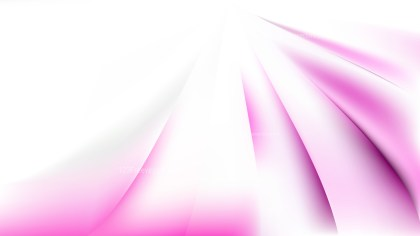 Abstract Pink and White Background Vector Illustration
