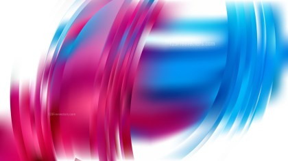 Abstract Pink Blue and White Background