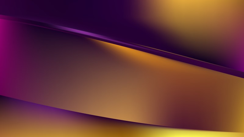 Purple and Gold Background Graphic