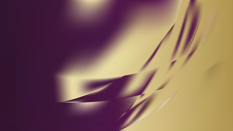 Abstract Purple and Gold Background