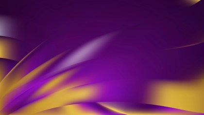 Abstract Purple and Gold Background Design