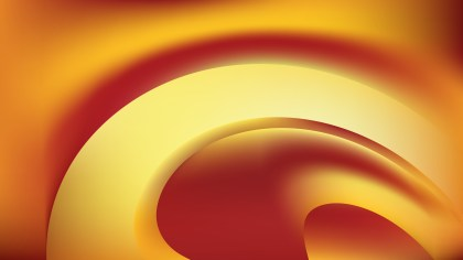 Abstract Red and Gold Background Design