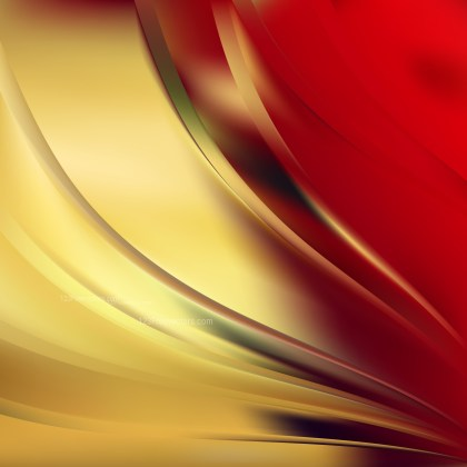 Abstract Red and Gold Graphic Background