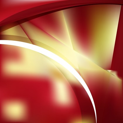 Abstract Red and Gold Background Vector Illustration