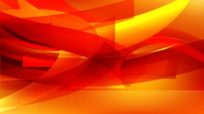 Abstract Red and Yellow Background Vector Illustration