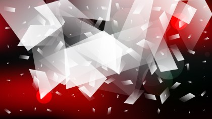 Abstract Red Black and White Background