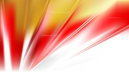 Red Gold and White Background