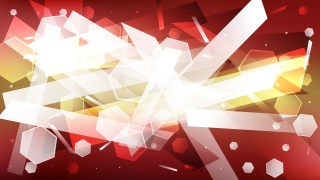 Abstract Red Gold and White Background