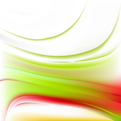Red Green and White Background Graphic