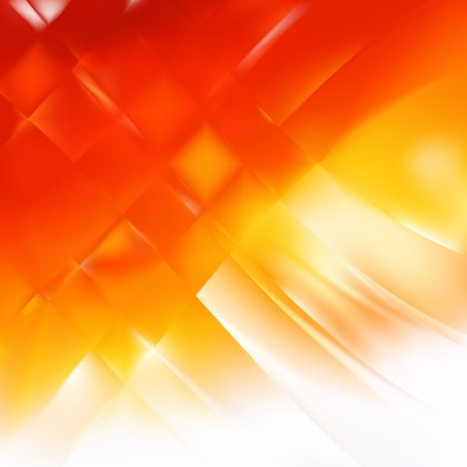 Abstract Red Orange and White Graphic Background