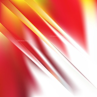 Abstract Red White and Yellow Graphic Background