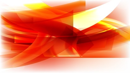 Abstract Red White and Yellow Background Design
