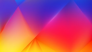Abstract Red Yellow and Blue Background