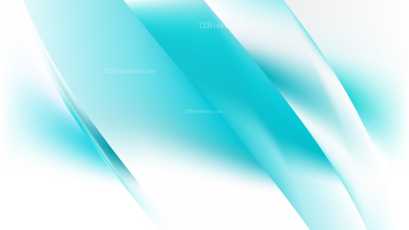 Turquoise and White Background