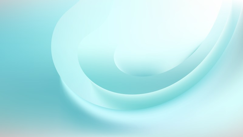 Turquoise and White Background Vector Image