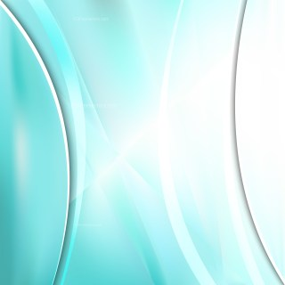Abstract Turquoise and White Background