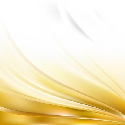Abstract White and Gold Background