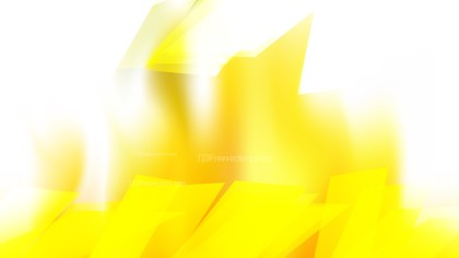 Abstract Yellow and White Graphic Background