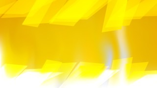 Abstract Yellow and White Background Vector Illustration