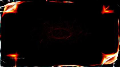 Abstract Black Fractal Light Lines Background Image