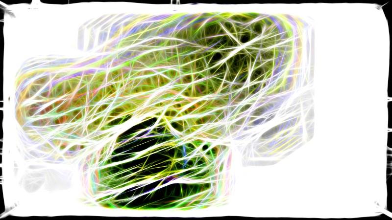 Abstract Light Color Fractal Light Lines Background Image