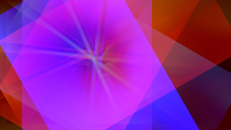 Red and Purple Fractal Background