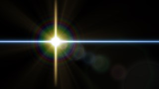 Black Lens Flare Background