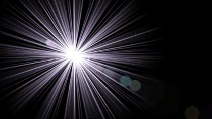 Black Lens Flare Light Background