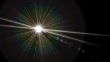 Black Flare Light Flash Background