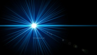 Black and Blue Flare Light Flash Background