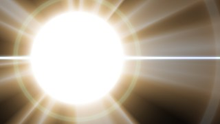 Brown and White Lens Flare Background