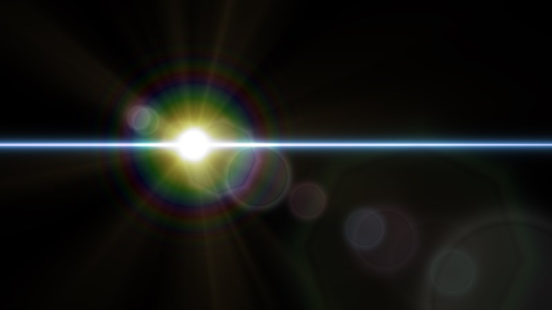 Cool Flare Light Flash Background