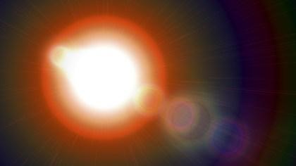 Dark Color Lens Flare Background