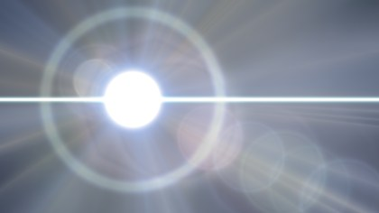 Dark Grey Lens Flare Background