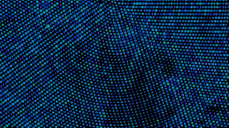 Black and Blue Dot Pattern Background