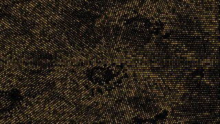 Black and Gold Dotted Background Graphic